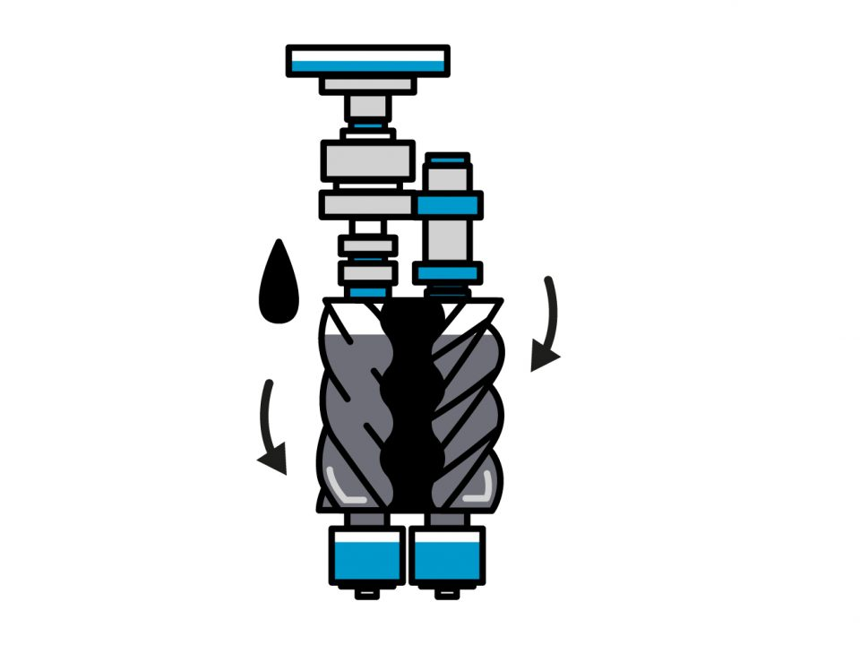 screw compressors in Egypt