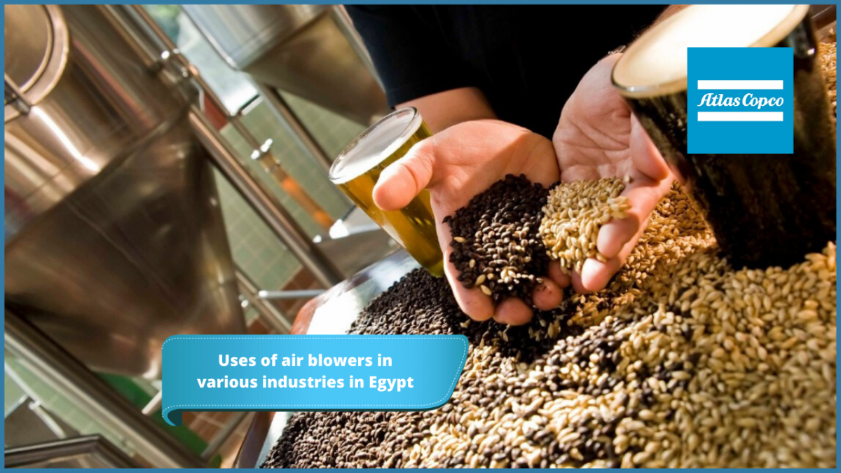 Air Blowers uses in many industries